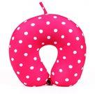 Albi Cestovní polštář - Růžový s puntíky