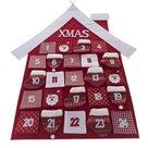 Textilní adventní kalendář - Domeček