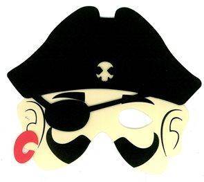 Maska Pirát plast