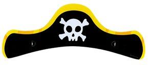 Čepice pirátská dětská 6 ks v sáčku