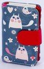 Albi Designová manikúra - Modré kočky