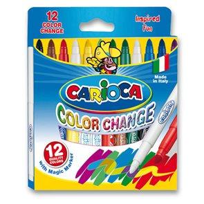 Carioca popisovače Color change 10+2