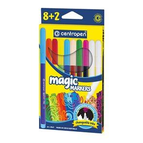Centropen Popisovač 2549/8+2 Magic - sada 10 barev