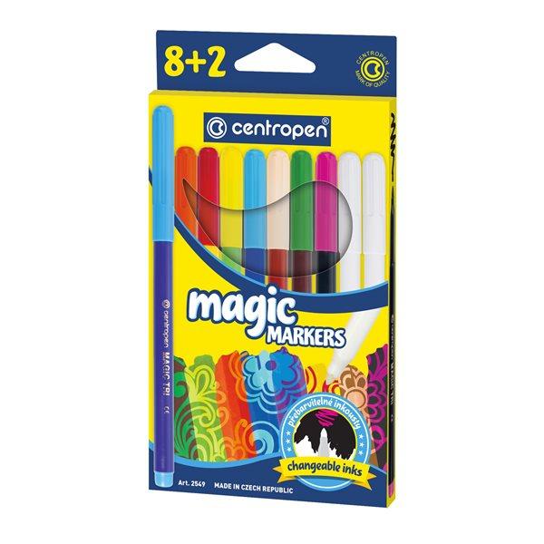Centropen Popisovač 2549/8+2 Magic 10 barev