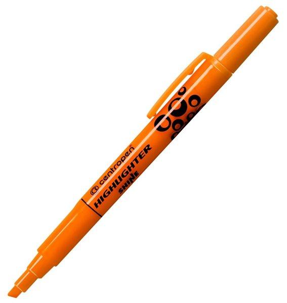 Centropen Zvýrazňovač SHINE 1-4mm - oranžový