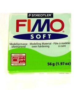 Modelovací hmota FIMO soft 56 g - 50 barva světle zelená (jablko)