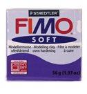 Modelovací hmota FIMO soft 57 g - 63 tmavě fialová (švestka)
