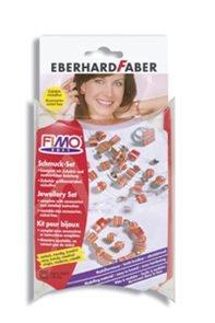 Sada modelovací hmoty FIMO - šperky Červený sen