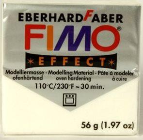Modelovací hmota FIMO soft 56 g - 052 metalická bílá