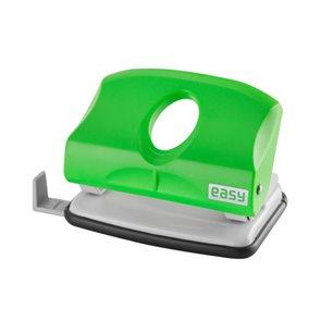 EASY Děrovačka 2150GN plastová 15 listů - zelená