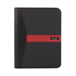 Guriatti Portfolio se zipem A4-B-09-G - černá/červená