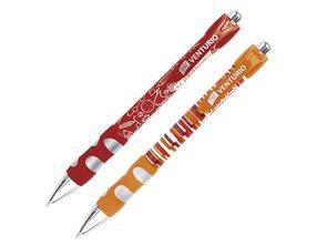 EASY Kuličkové pero Venturio - červeno-oranžový mix