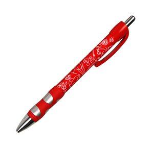 EASY Kuličkové pero Venturio - červené