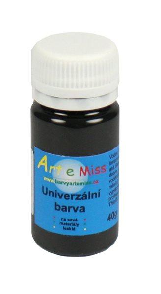 Univerzální barva - vysoce lesklá 40 g barva černá