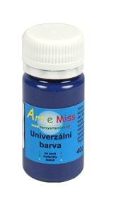 Univerzální  barva - vysoce lesklá 30 g - barva modrá