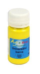 Univerzální barva - vysoce lesklá 30 g - barva žlutá