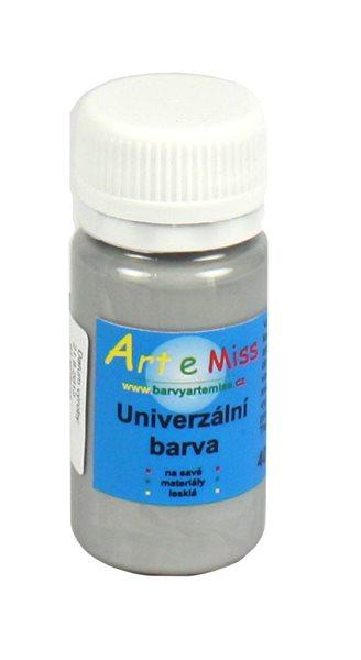 Univerzální barva - vysoce lesklá 30 g - barva stříbrná