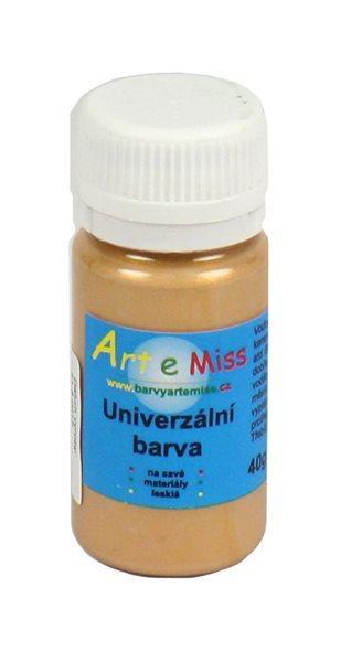 Univerzální barva - vysoce lesklá 40 g - barva zlatá