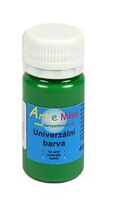 Univerzální  barva - vysoce lesklá 30 g  - barva zelená
