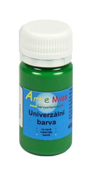 Univerzální barva - vysoce lesklá 40 g - barva zelená