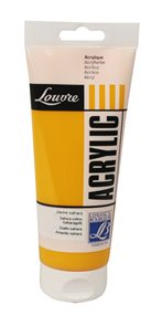 Akrylová barva Lefranc, Louvre - 200 ml - 194 - Saharová žluť