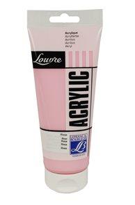 Akrylová barva Lefranc, Louvre - 200 ml - 351 - růžová