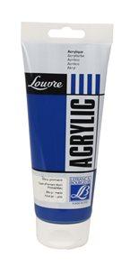 Akrylová barva Lefranc, Louvre - 200 ml - 063 - Primární modř