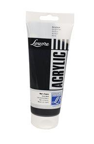 Akrylová barva Lefranc, Louvre - 200 ml - 269 - černá Ivory