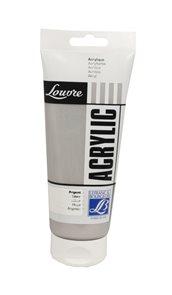 Akrylová barva Lefranc, Louvre - 200 ml - 710 - Stříbrná