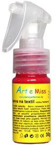 Textilní barva ve spreji - 30 g - barva růžová
