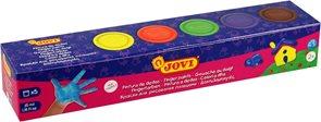 Prstové barvy JOVI - 5×35 ml