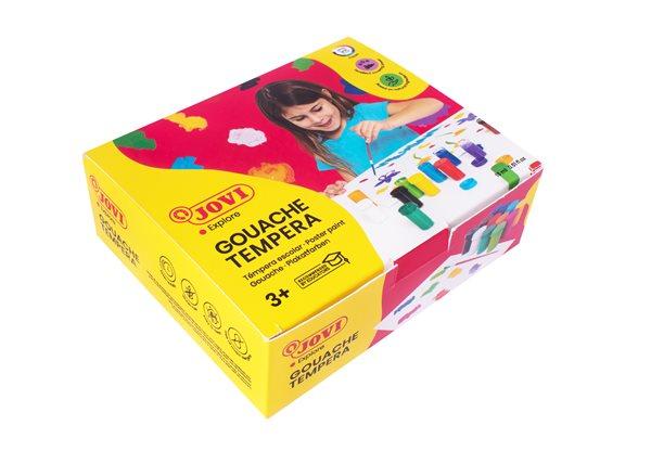 Barvy temperové Jovi 12×15 ml v kelímku