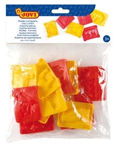 Plastová vytlačovátka Jovi - 12 druhů