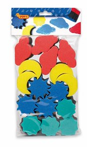Tiskátka Jovi - molitanová na barvy, 16 ks