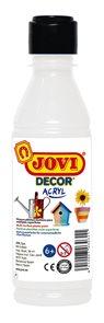 Akrylová barva DECOR AKRYL 250 ml - bílá