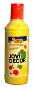 Barva dekorativní Jovi - rychleschnoucí - 02 žlutá, 250 ml