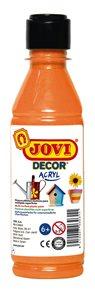 Akrylová barva DECOR AKRYL 250 ml - oranžová
