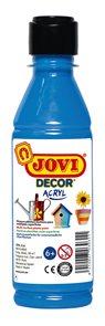 Akrylová barva DECOR AKRYL 250 ml - světle modrá