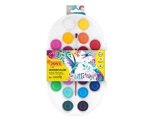 Barvy vodové Jovi - 22 barev (30 mm) + štětec