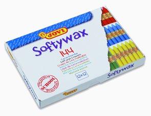 Voskovky JOVI SOFTYWAX - Ekonomické balení 144 ks, 12 barev