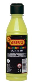 Temperová barva JOVI PREMIUM 250 ml, neonová - Žlutá