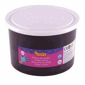 Prstová barva JOVI 500 ml - černá