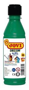 Akrylová barva DECOR AKRYL 250 ml - tmavě zelená