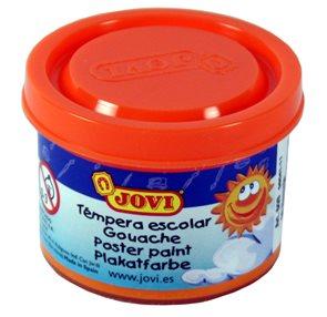 Barva temperová Jovi v kelímku 5×35 ml - oranžová