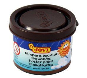 Barva temperová Jovi v kelímku 5×35 ml - hnědá
