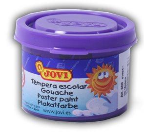 Barva temperová Jovi v kelímku 5×35 ml - fialová