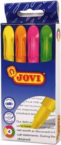 Gelové zvýrazňovače Jovi - sada 4 ks