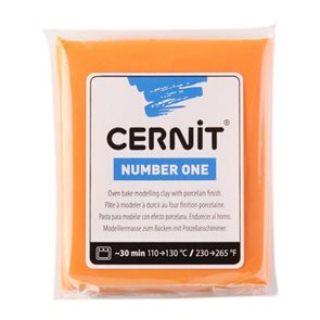 CERNIT Modelovací hmota 56 g - oranžová