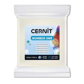 CERNIT Modelovací hmota 250 g - bílá krycí