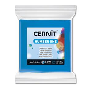 CERNIT Modelovací hmota 250 g - modrá